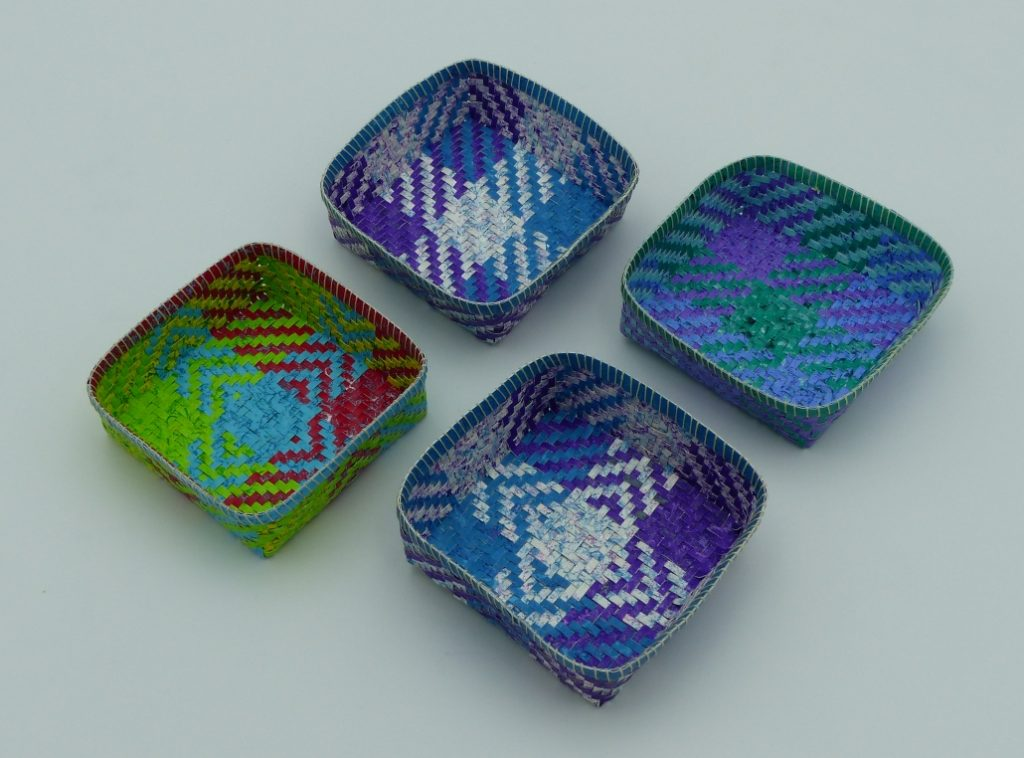 Nine Patch Paper Trays